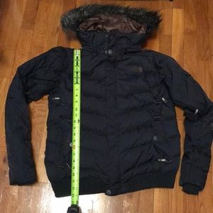 Women's North Face jacket w/removable hood